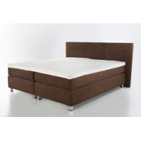 HAWAII 160-as Boxspring Ágy Topper Fedőmatraccal Barna 406-48