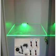 Cama ledsor 4 üvegpolchoz, zöld