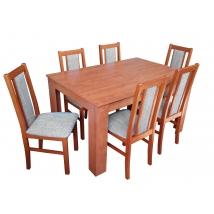 FÉLIX 6+1 Étkező Calvados (Félix asztal; Félix szék)