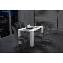 AHAUS 140x80-as MAGASFÉNYŰ asztal FIX