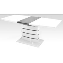 AURÉL Asztal Fehér / Szürke színben