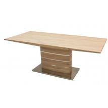CLAUDIA Asztal 160X90+40 Sonoma Tölgy