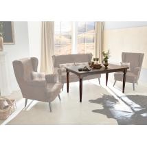 EDMONTON 160x90-es asztal FIX barna