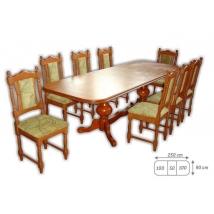 EURÓPA MAX étkező 8+1 Éger (Európa Max asztal - Wénusz szék)