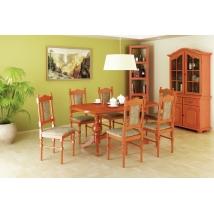 EURÓPA étkező 6+1 CALVADOS (Európa asztal - Wénusz szék)