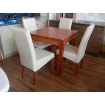 BERTA étkező 4+1 (Calvados - beige) - 80x80-as asztal