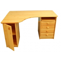 Etsberger VANESSA kicsi ajtós sarokíróasztal