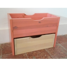 Etsberger pácolt varázsdoboz rózsaszín - bézs