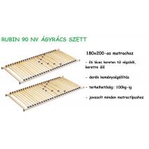 RUBIN 90 NV ágyrács szett 2db  90X200