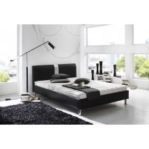 DALLAS 180 x 200 -as ágykeret fekete (ágyrács és matrac nélkül)