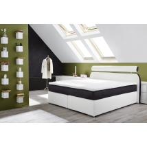 OLBIA 180-as Boxspring ágy TOPPER FEDŐMATRACCAL 440/07 - 466/09