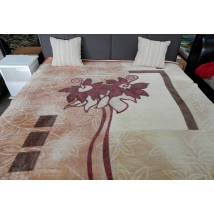 DINARSU  PLÉD Barna/beige rózsa 200x240 cm