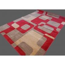 MARGIT Friese Carred szőnyeg 0196 L RED 200x280 cm