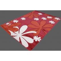 SUPER CARPET szőnyeg 0166A HT RED 80x150 cm