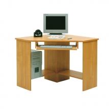 B3 sarok számítógépasztal BÜKK színben