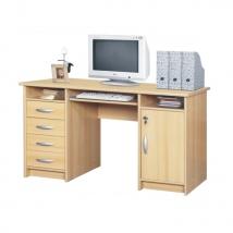 B9 számítógépasztal BÜKK színben