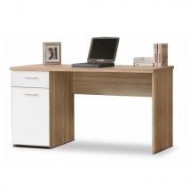 EGON számítógépasztal SONOMA TÖLGY - FEHÉR színben