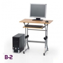 B-2 számítógépasztal ÉGER színben