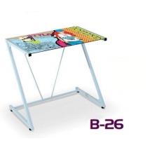 B-26 számítógépasztal színes