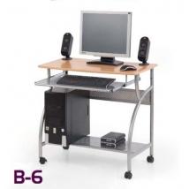 B-6 számítógépasztal ÉGER színben