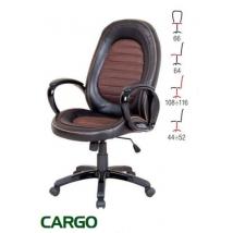 CARGO forgószék BARNA/FEKETE