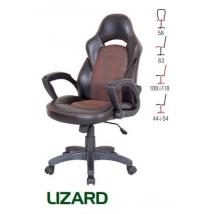 LIZARD forgószék BARNA/FEKETE