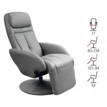 OPTIMA fotel szürke