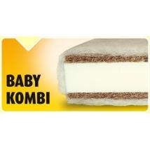 BABY KOMBI Gyermekmatrac Rugó nélkül 90x200 - 6 cm vastag