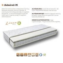 ADMIRAL-M táskarugós matrac 160x200 - 24 cm vastag