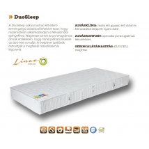 DUO SLEEP Matrac 160x200 (Rn) - 18 cm vastag