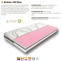 NOBILE-3K MAX 160x200 Hideghab matrac - 20 cm vastag