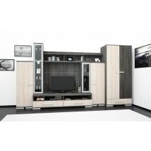 .DALLAS 375 szekrénysor LED VILÁGÍTÁSSAL-CANTERBURY / SANTANA