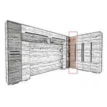 NEST 80 cm-es Sarok elem san remo / canterbory