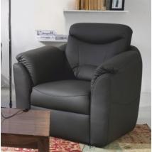 MERLIN fotel FEKETE színben