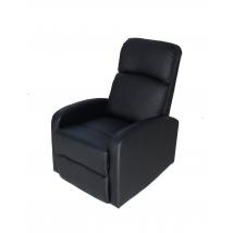 DALLAS Tv Fotel Fekete