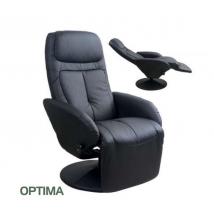 OPTIMA fotel fekete