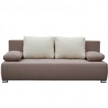 ATOS kanapé VILÁGOSBARNA - KRÉM színben