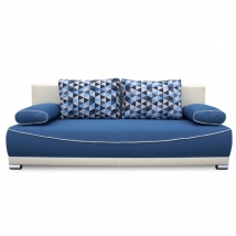 DINAR kanapé KÉK - BÉZS színben