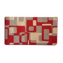 MARGIT Friese Carred szőnyeg 0196 RED 80x150
