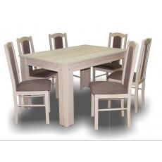 SOPHIA Étkező 6+1 (Félix asztallal) SONOMA TÖLGY