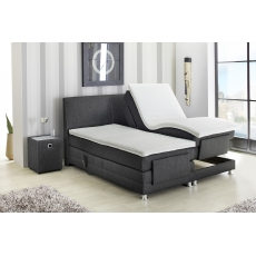 RAFFINETTO 298-06 180-as Motoros Boxspring ágy Topper Fedőmatraccal