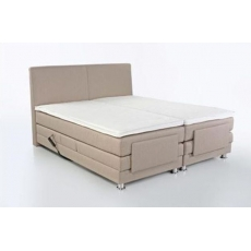 RAFFINETTO 298-07 180-as Motoros Boxspring ágy Topper Fedőmatraccal