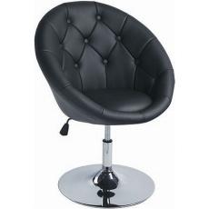 KROKUS Fotel Fekete
