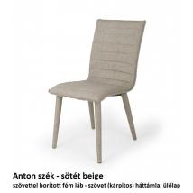 ANTON szék sötét beige