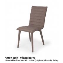 ANTON szék világosbarna