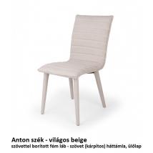 ANTON szék világos beige
