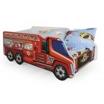 FIRE TRUCK gyerekágy (Tűzoltóautós)