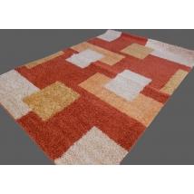 TISZA SHAGGY szőnyeg 0051 TERRA 200x280 cm