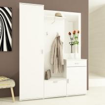 AMALIA előszobafal fehér színben