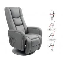 PULSAR fotel szürke